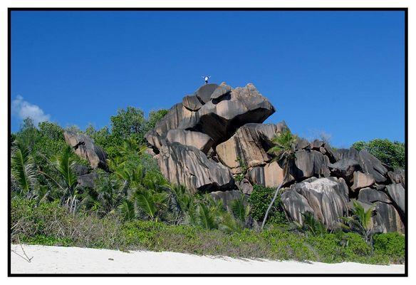 Nordende der Grand Anse