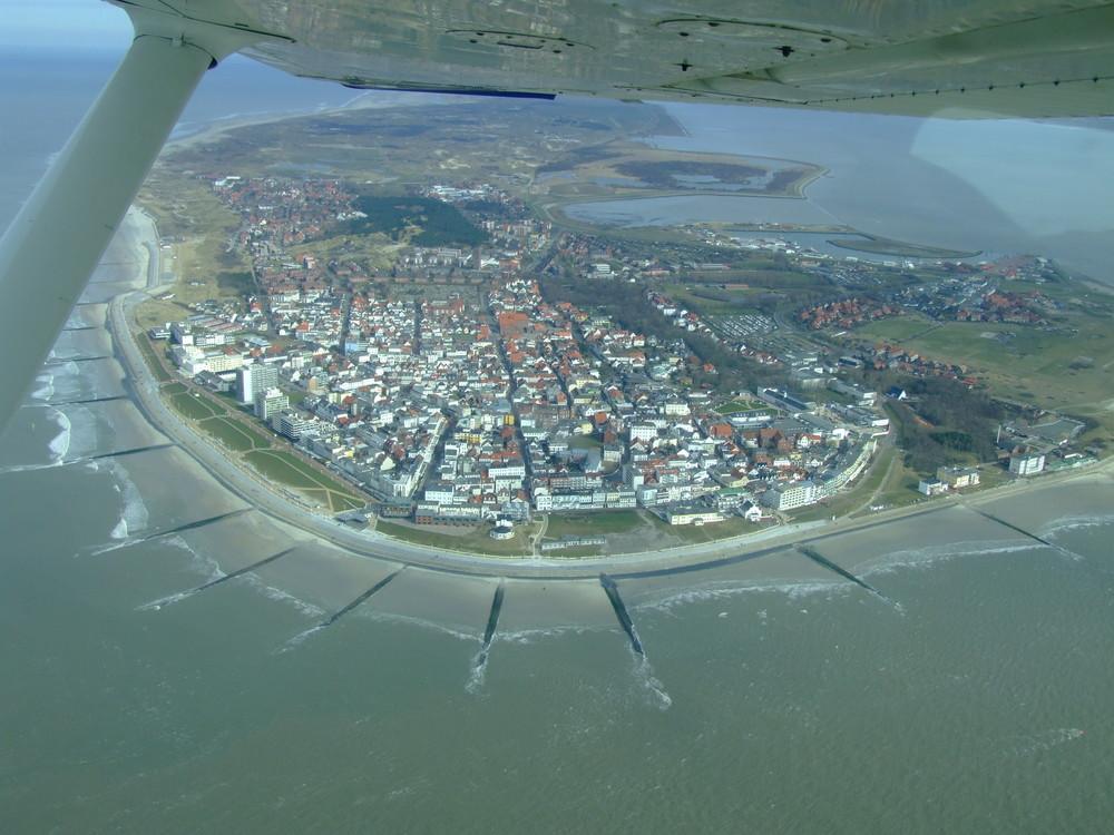 Norderney aus der Luft
