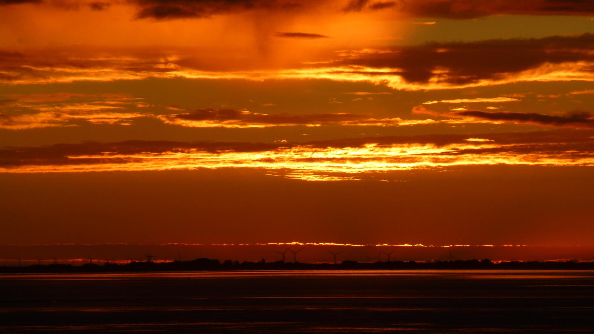 Nordfrieslands Küste am Morgen