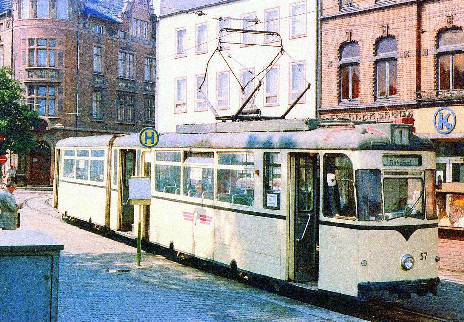 Nordhausen 57 am Bahnhof 1986