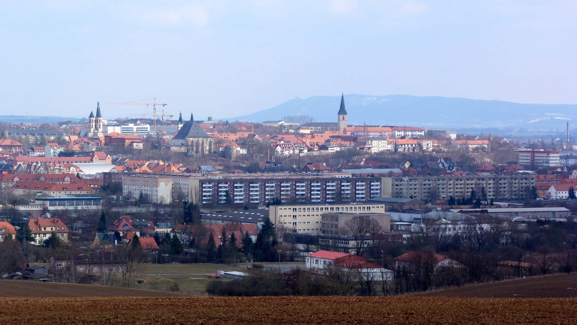 Nordhausen am Harz und Kyffhäusergebirge