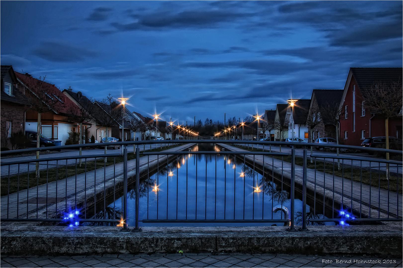 Nordkanal im Abschnitt  Viersen .....