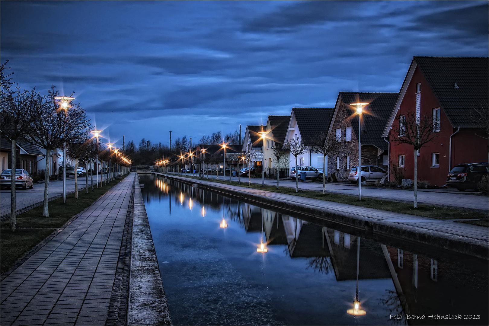 Nordkanal ....  zu Viersen