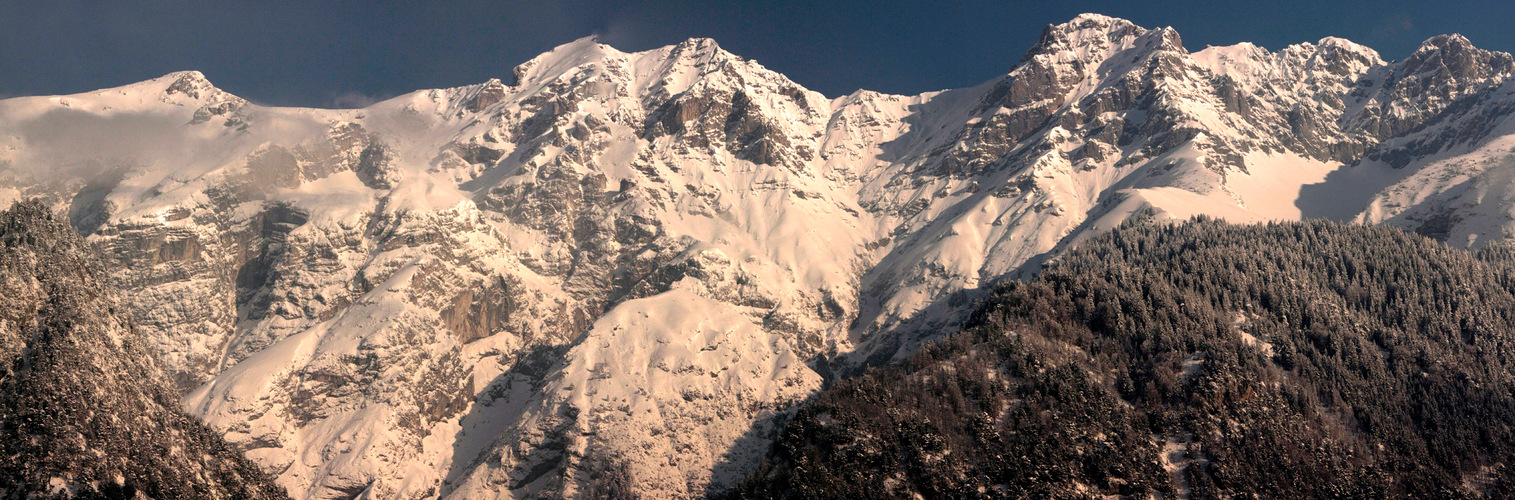 Nordkette Innsbruck ( Teilpanorama )