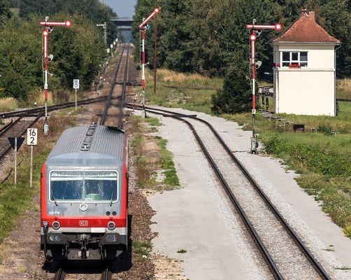 Nordkopf Bahnhof Garching
