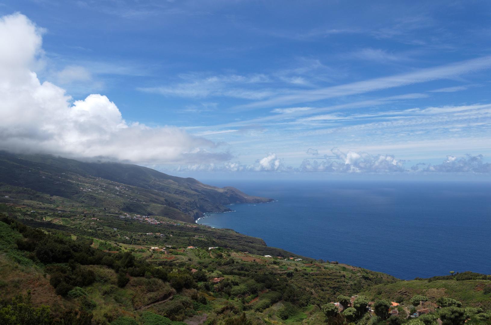 Nordküste bei La Tosca, La Palma, Mai 2012