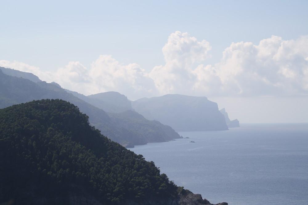 Nordküste von Mallorca im Oktober 2009