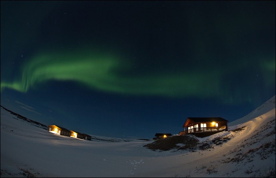 Nordlicht am Mývatn - IS 2013 #01