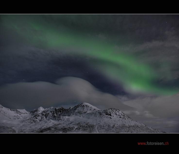 Nordlicht auf unserer Nord-Norwegen-Fotoreise