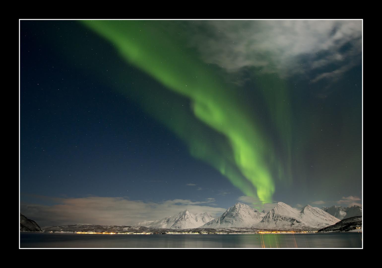 Nordlicht bei Tromsö 3