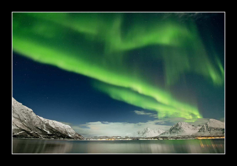 Nordlicht bei Tromsö 4