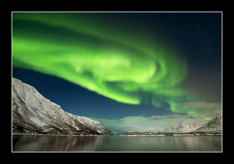 Nordlicht bei Tromsö 5