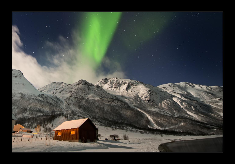 Nordlicht bei Tromsö