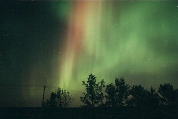 Nordlicht in Kanada