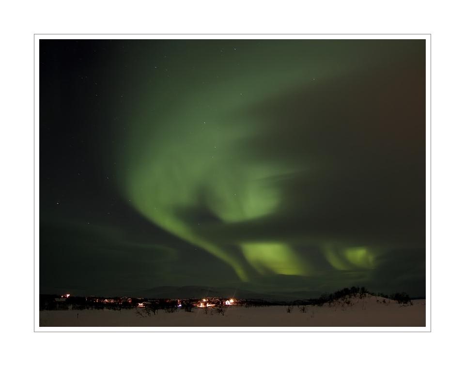 Nordlicht in Kilpisjärvi