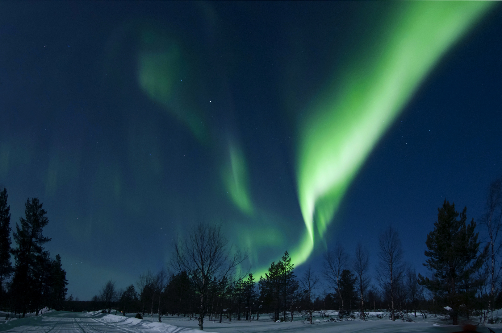 Nordlicht Saariselkä 3