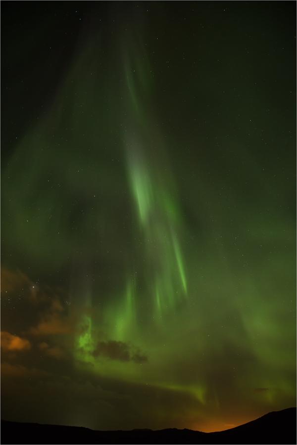 Nordlicht über Island II