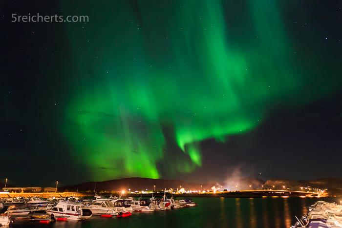 Nordlicht über Namsos