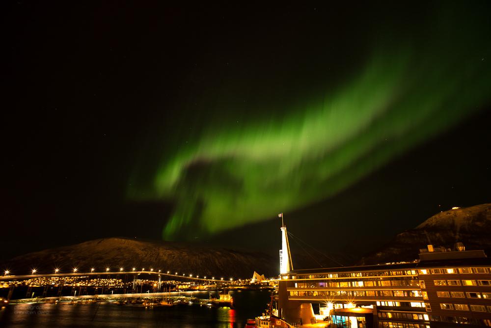 Nordlicht über Tromsø