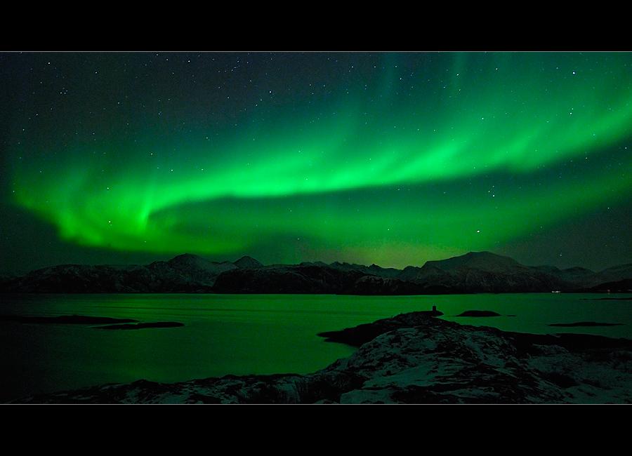 Nordlicht über Tussøya II