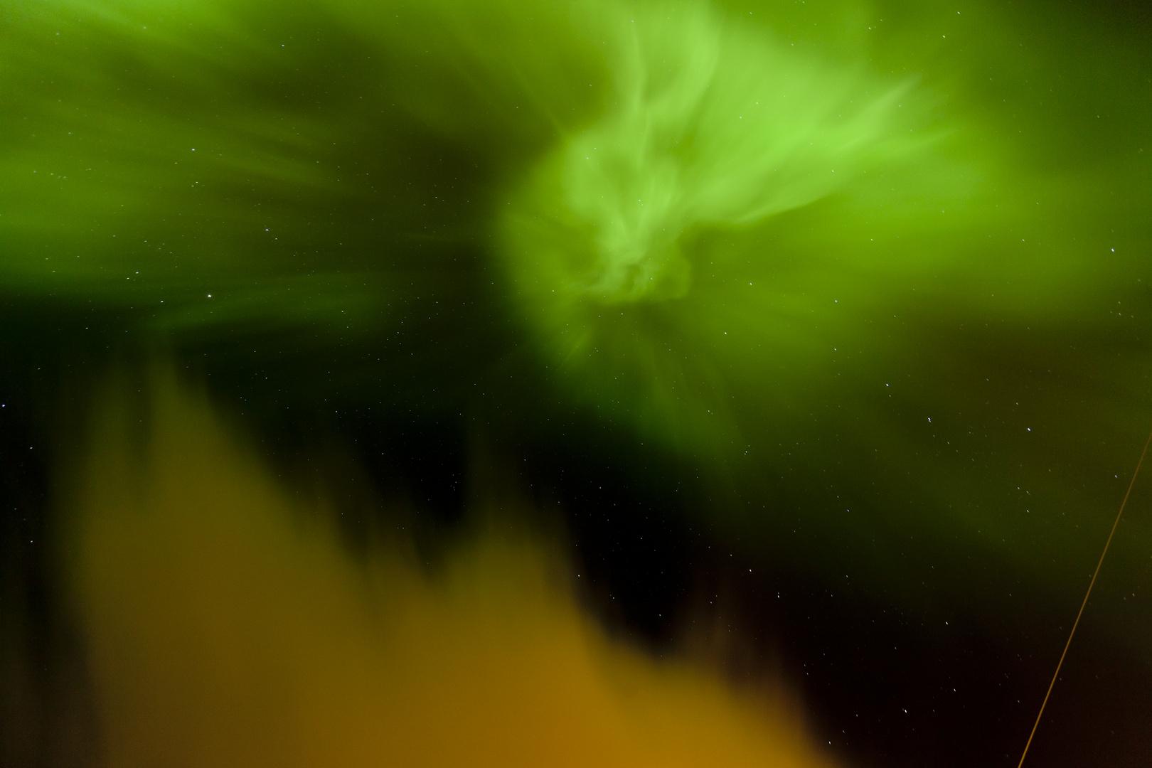 Nordlicht-Wirbel