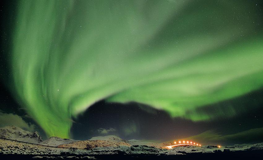 Nordlichtalarm 2 über Lofoten