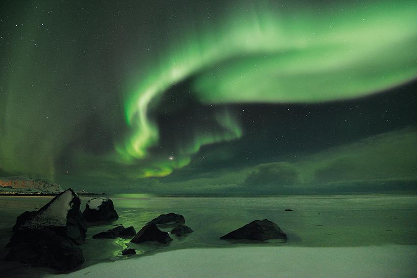 Nordlichtalarm 5 über Lofoten