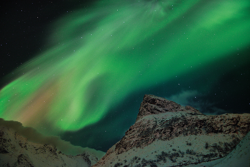 Nordlichtalarm über Lofoten