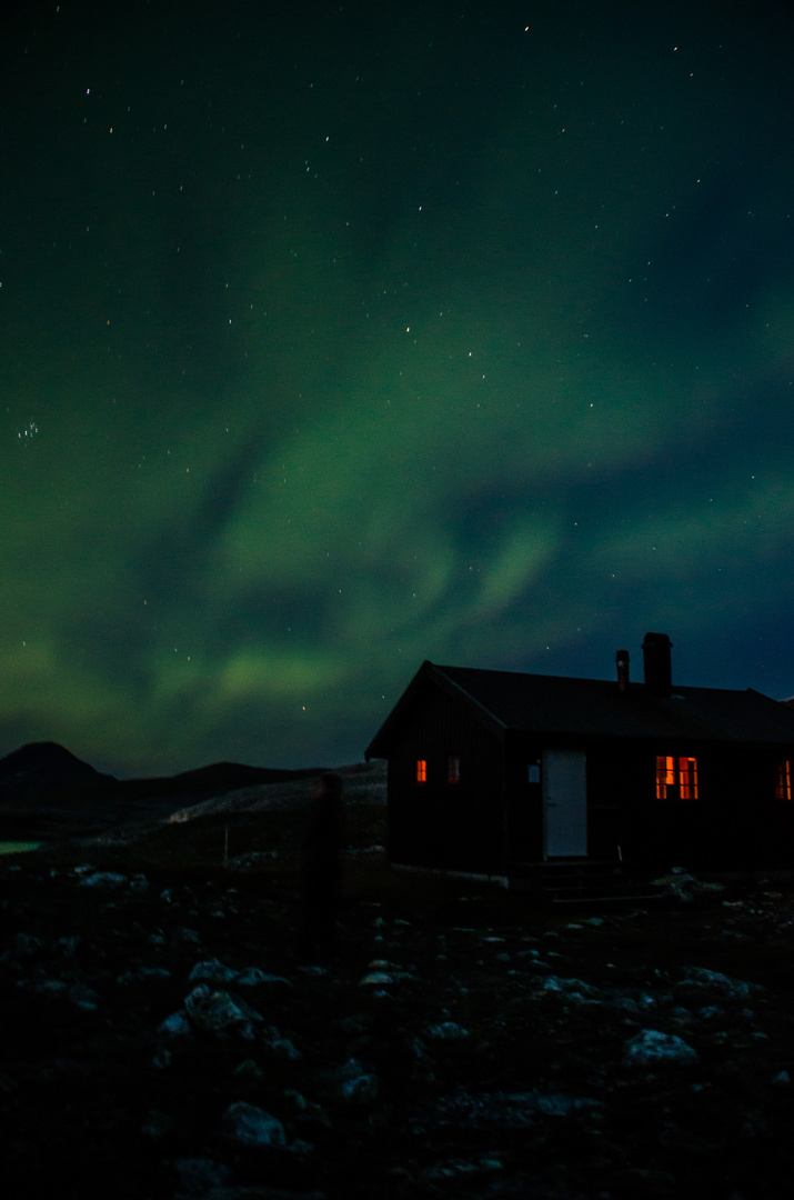 Nordlichter Ende August