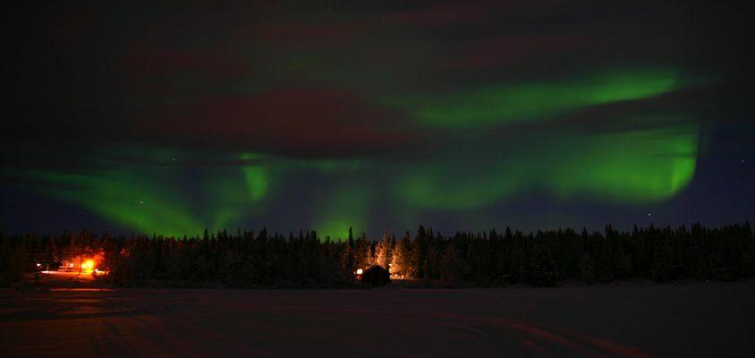 Nordlichter in Lappland II