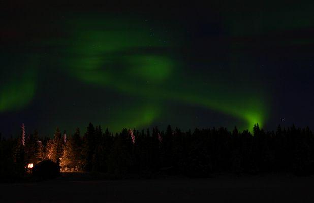 Nordlichter in Lappland III