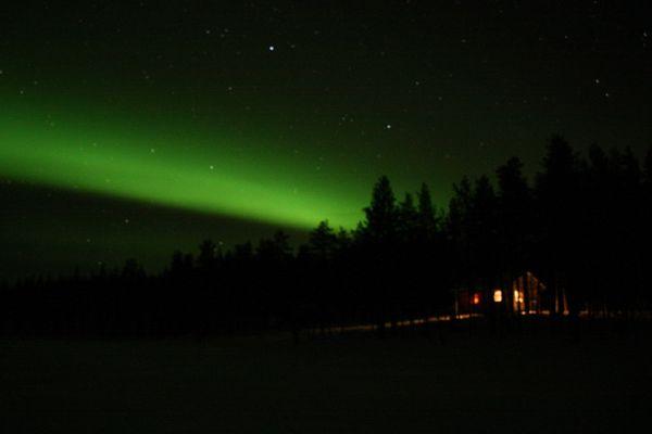 Nordlichter nähe Äkäskero - Lappland
