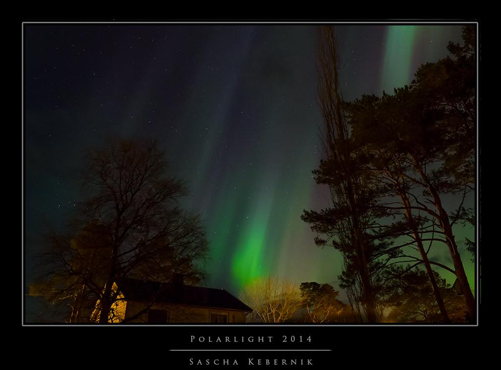 Nordlichter über Terråk