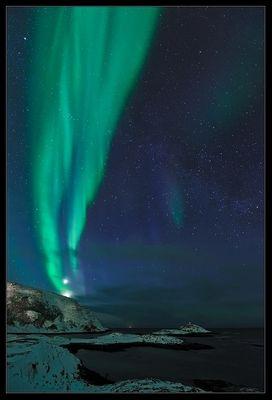Nordlichtfackel