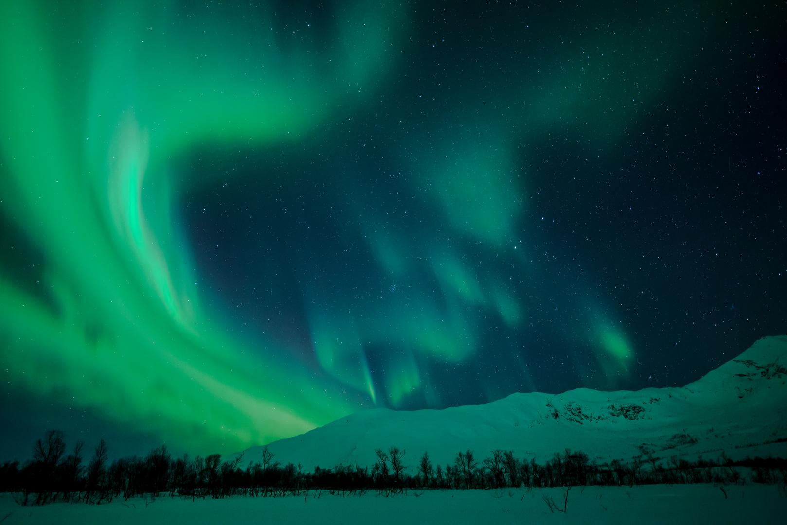 Nordlichtspektakel