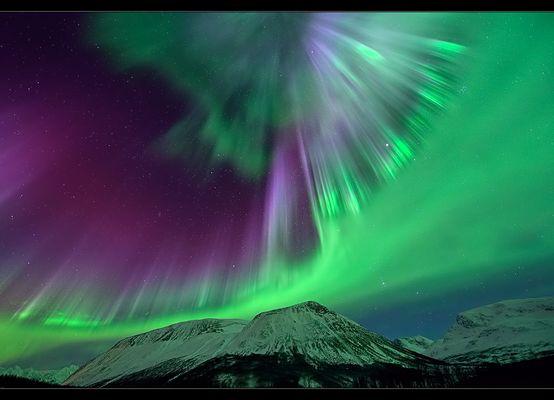 Nordlichtstrahlen