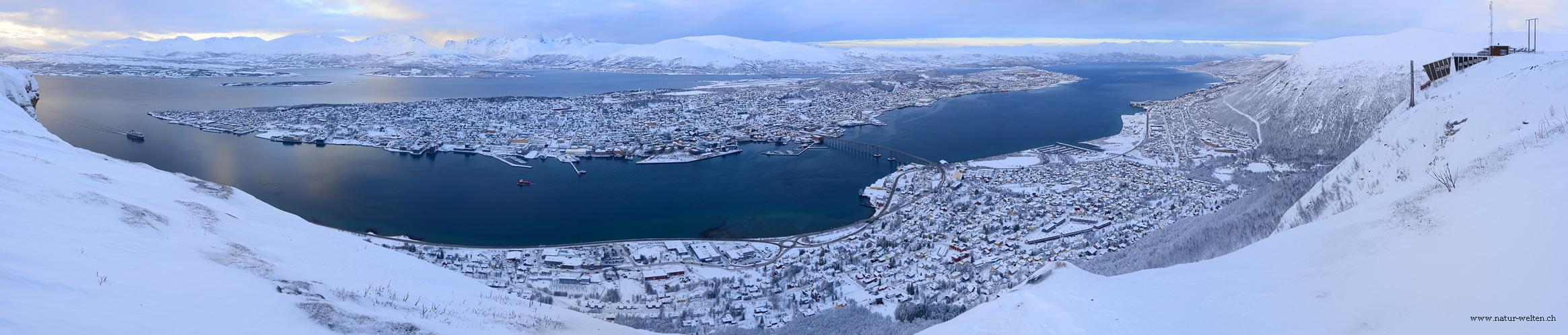 Nordmetropole Tromsö (180° Pano)