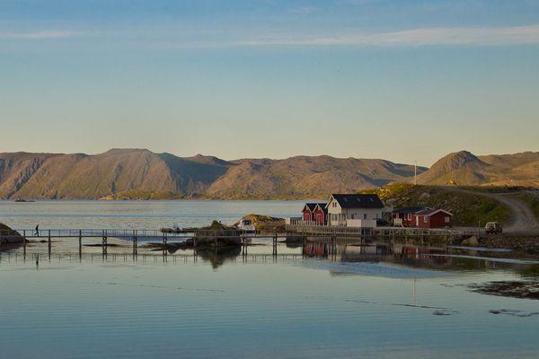 Nordnorwegen, auf dem Weg zum Nordkap