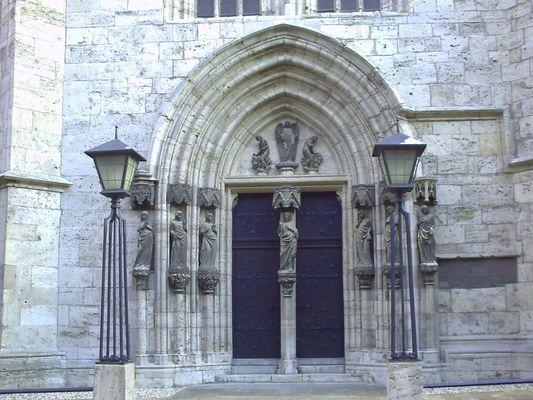 Nordportal der Marienkirche zu Mühlhausen
