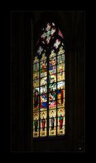 Nordrhein-Westfälische Impressionen -  Kölner Dom - Fensteransicht