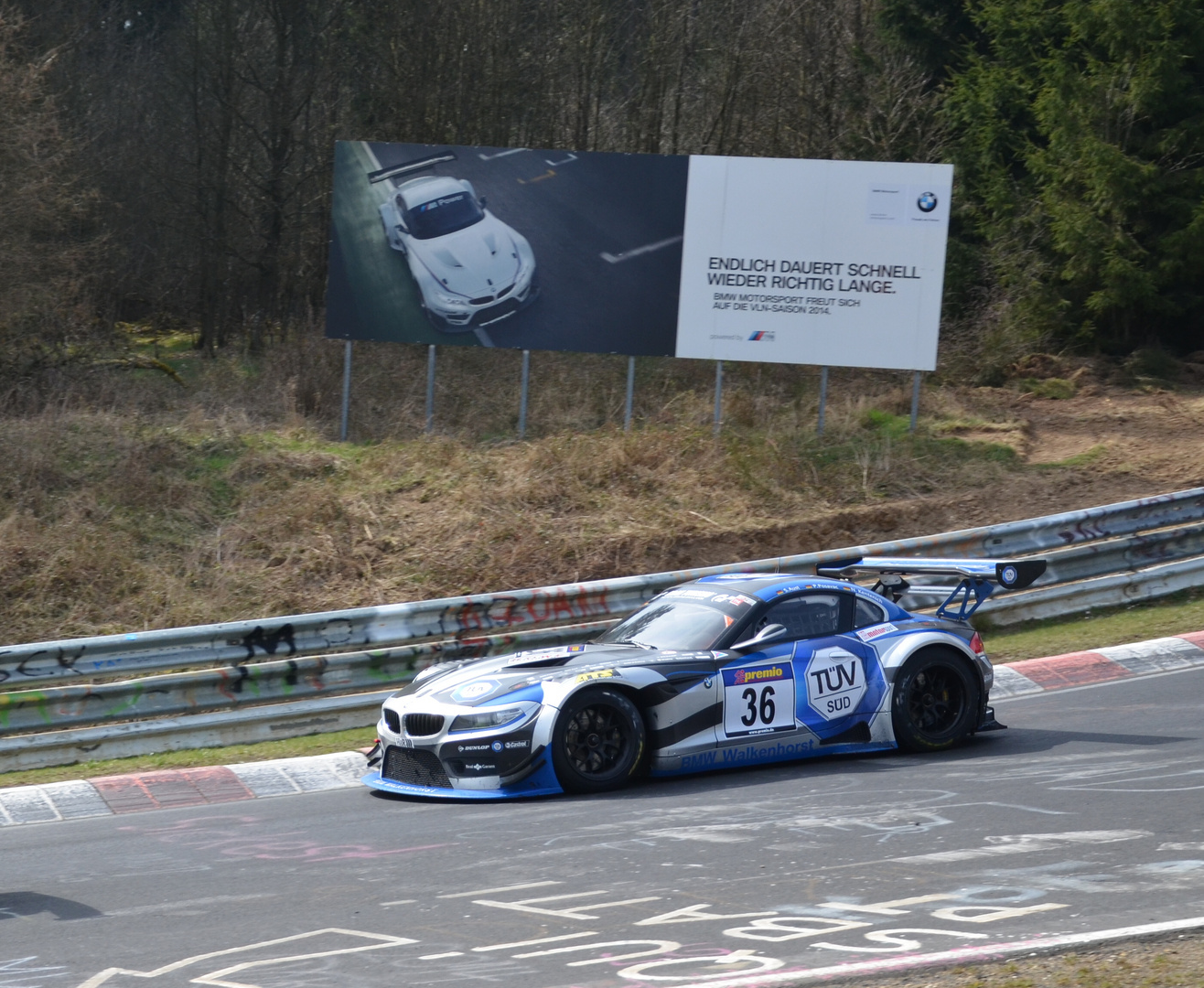 Nordschleifen Nürburgring (VLN 29.03.2014) Teil 4