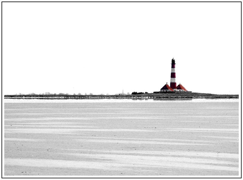 Nordsee #1: Leuchtturm von Westerhever