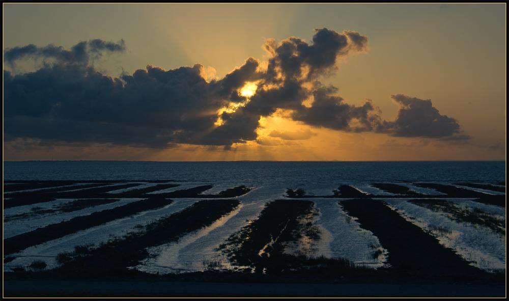 Nordsee Abendstimmung