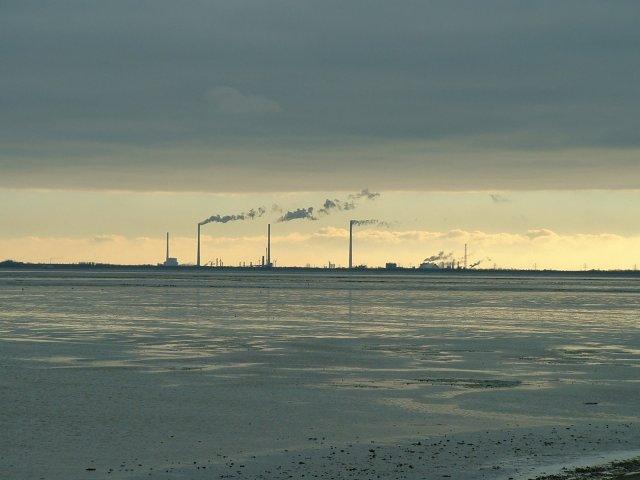 Nordsee im Zwielicht