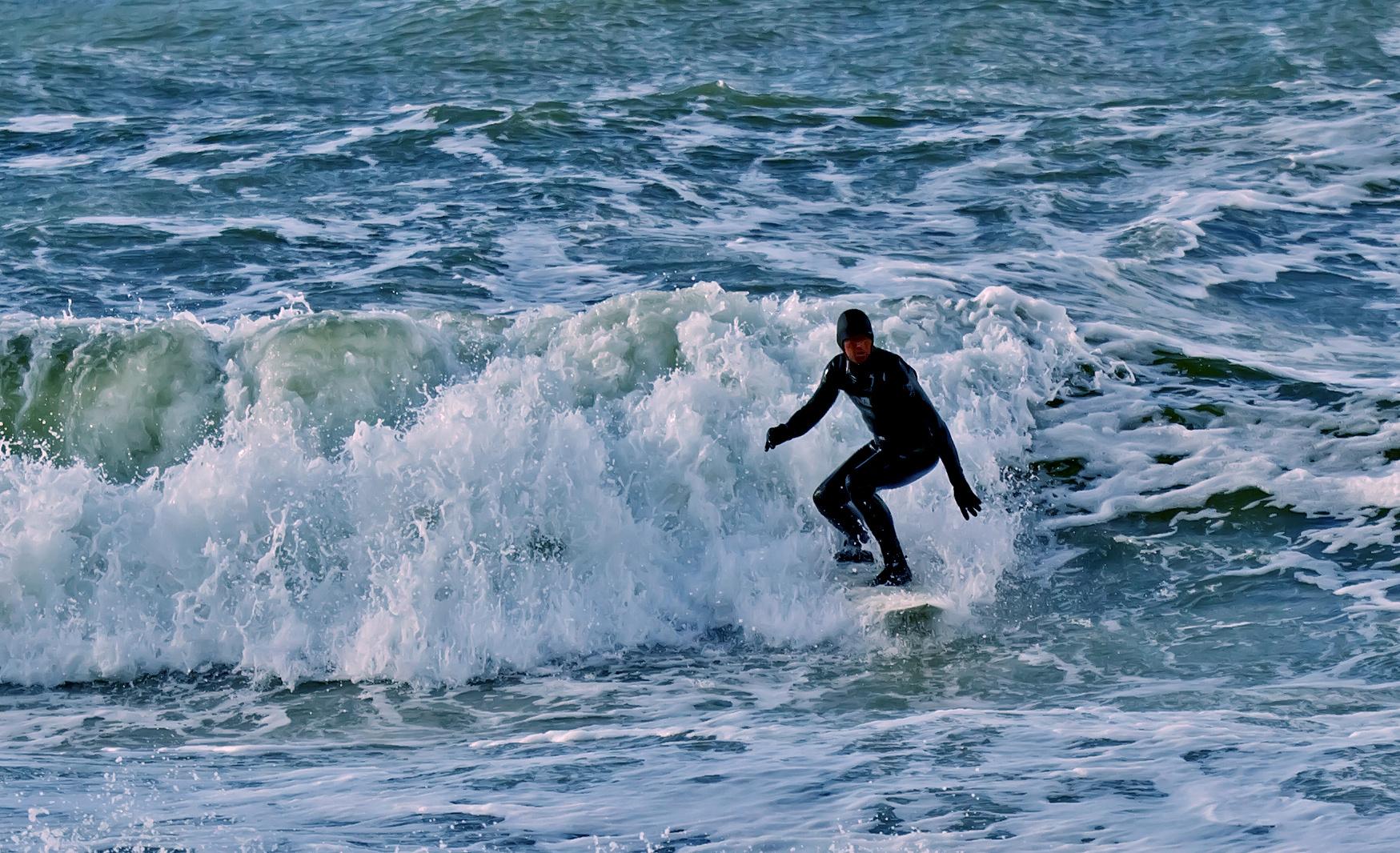 Nordsee-Surfer