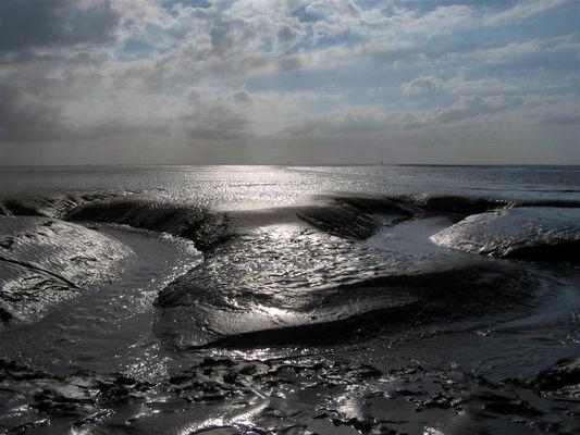Nordsee und Ebbe