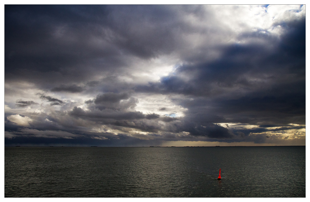 Nordsee zwischen Amrum und Föhr
