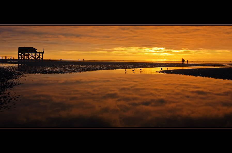 Nordseeglühen