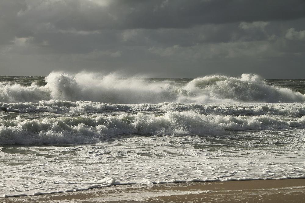Nordseewellen...