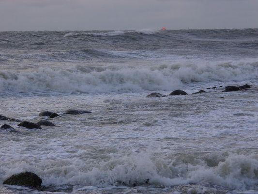 Nordsturm an der Kieler Bucht